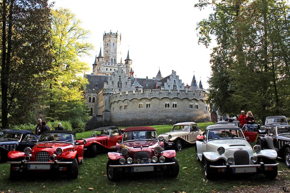 Panther Kallista Club Schloss Marienburg Oldtimer Treffen